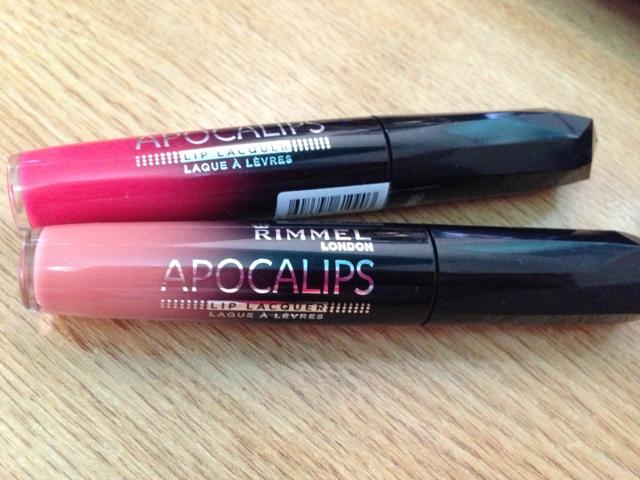 Rimmel Apocalips Lip Lacquers