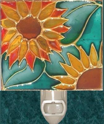 green background sunflower