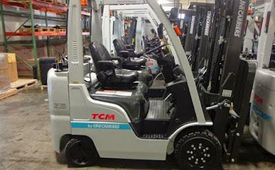 Xe nâng xăng gas TCM 2 – 3 tấn