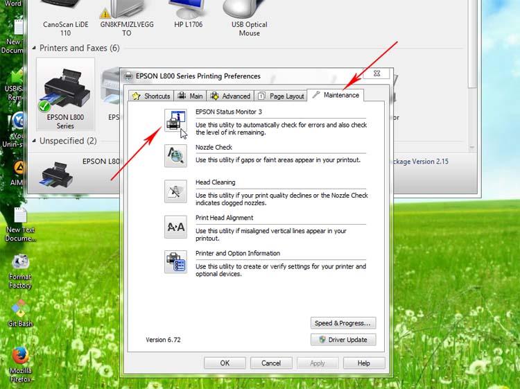 Cara Refill Ink Printer Epson L800