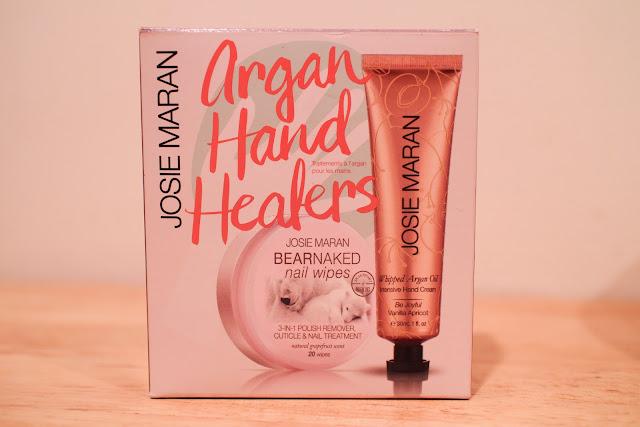 Josie Maran Argan Hand Healers Review