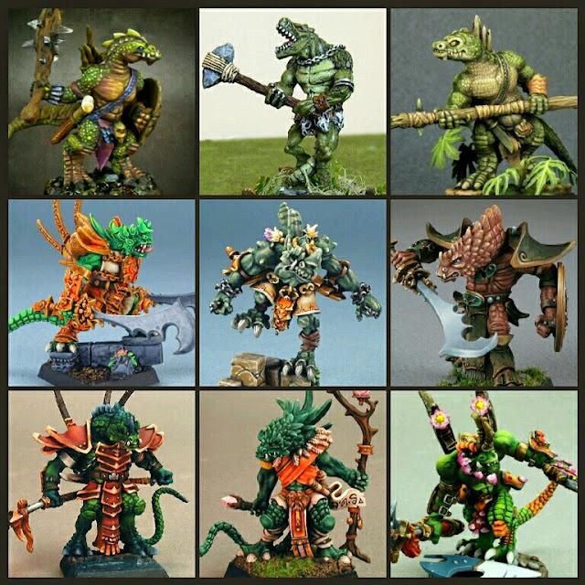 Saurios Reaper Miniatures