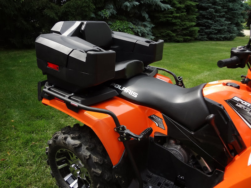 Sportsman Rear Box W Seat Lock And Go System From Thor
