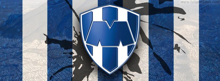 Portadas para facebook Escudo rayados de monterrey