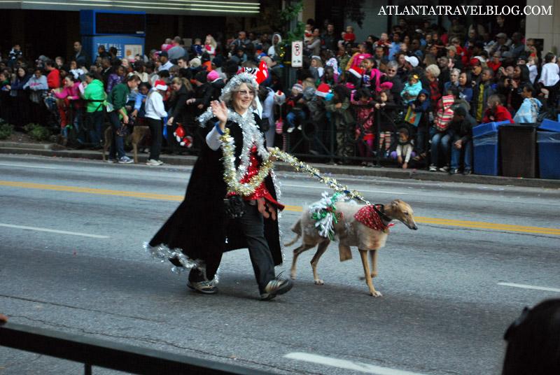 Рождественский парад в Атланте