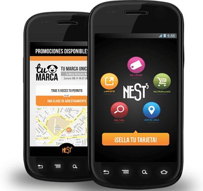 Nest5, aplicación móvil