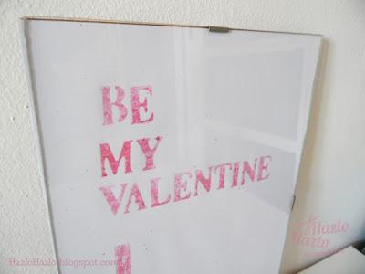 Lámina para San Valentín.