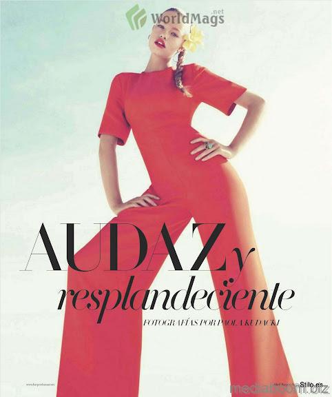 Color Block: Audaz y Resplandeciente (Harper's Bazaar México)