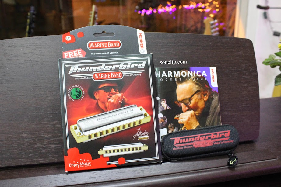 Kèn Harmonica - Hohner Marine Band Thunderbird (key LC)