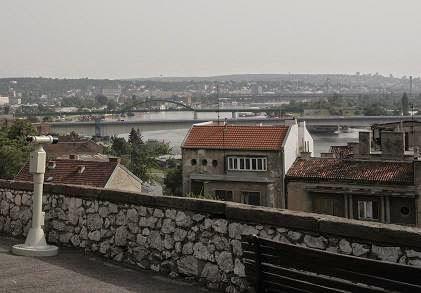 Белград, Калемегдан, смотровая площадка