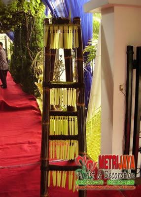 wedding decoration / dekorasi pengantin tradisionalbanjarnegara