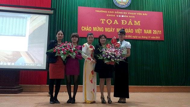 Khoa GDMN tổ chức Tọa đàm chào mừng ngày Nhà giáo Việt Nam 20/11