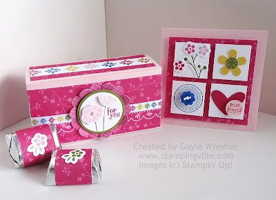 Mini Card & Treat Box Easy Paper Craft Projects