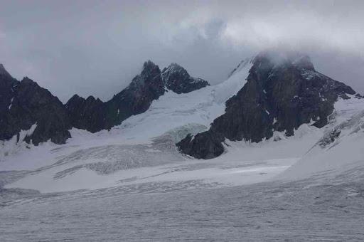 Vue depuis le glacier d'Otemma