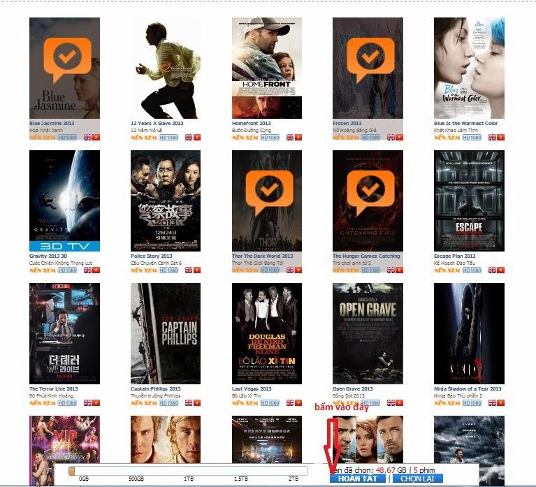 Chép phim HD, 3D chất lượng cao nhất, giá rẻ nhất tại Hà Nội - 2