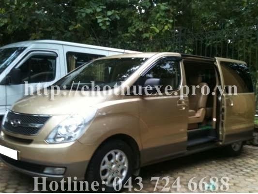 Cho thuê xe Hyundai Starex 9 chỗ tại Hà Nội
