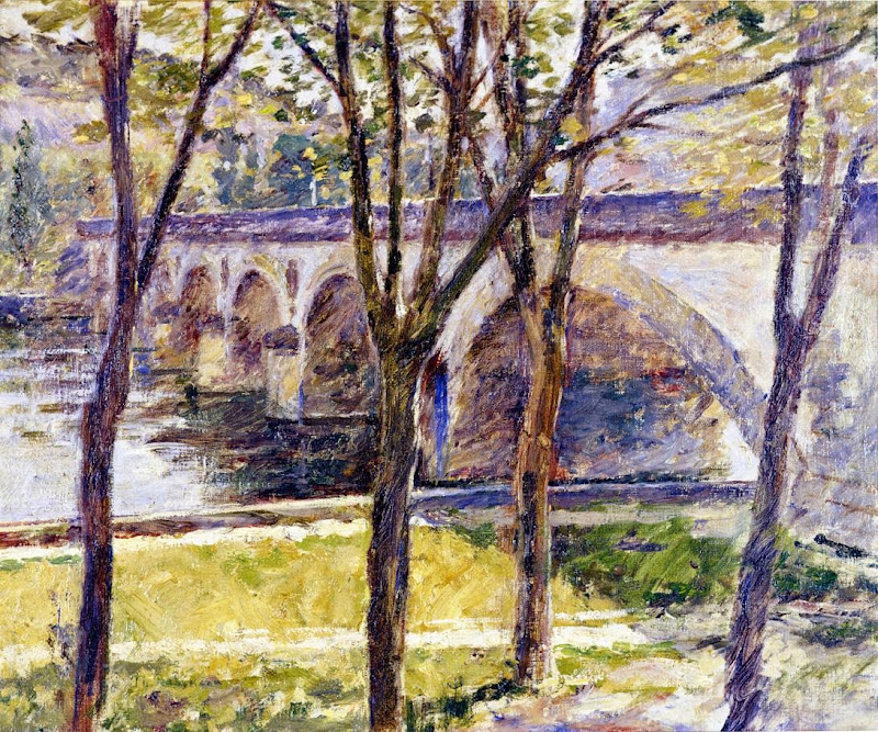 Theodore Robinson - Bridge near Giverny-1892