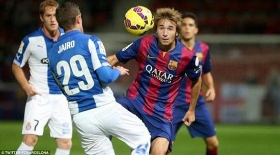 Luis Suarez lần đầu đoạt Cúp cùng Barca
