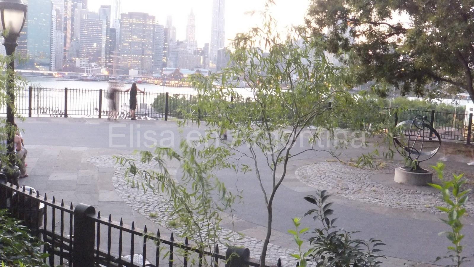 Manhattan al atardecer, Brooklyn Heights, New York, Elisa N, Blog de Viajes, Lifestyle, Travel