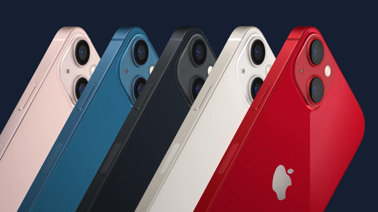apple ra mắt iphone 13