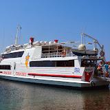 Fahrt mit der Fähre von Paros nach Delos und Mykonos