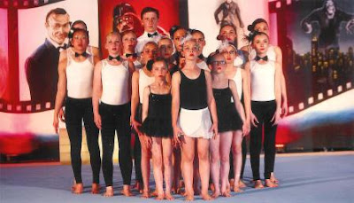 """""""The Showstoppers"""", Woburn Sands Gymnastics GymFusion Team"""