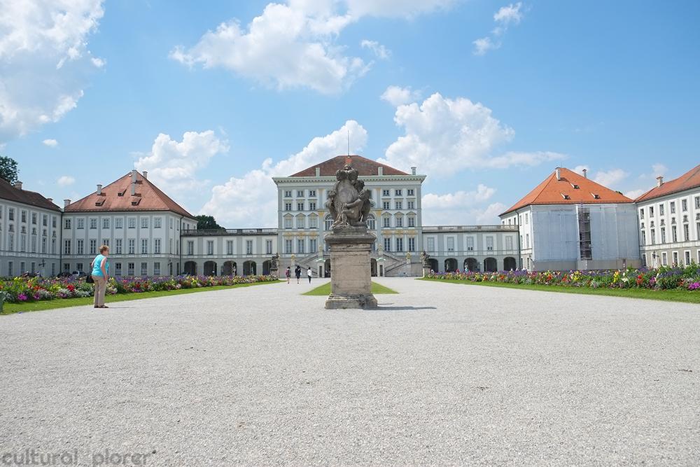 Main entrance Nymphenburg