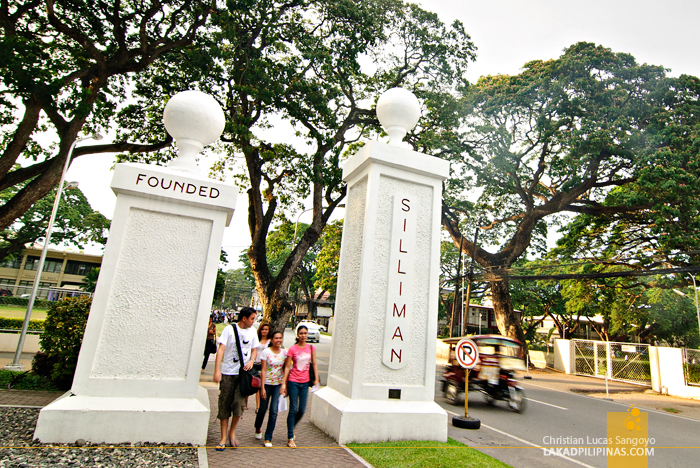 Silliman University Gates at Dumaguete City