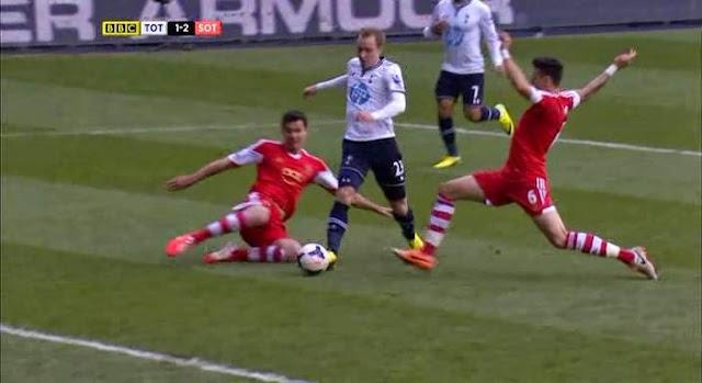 Eriksen, Tottenham - Southampton