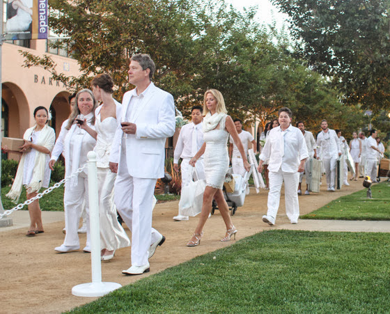 photo of guests Diner En Blanc
