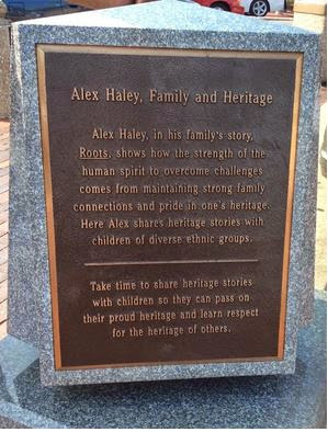 Alex Haley Memorial
