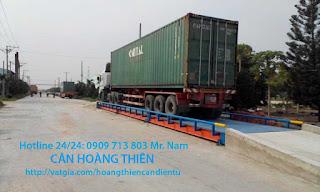 Lắp đặt Cân xe tải 80 tấn siêu bền