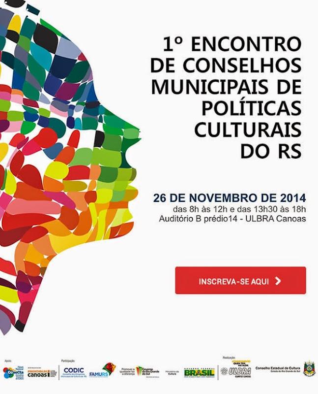 Encontro Conselhos Municipais de Políticas Culturais