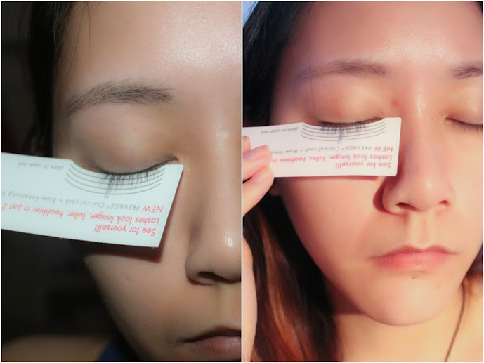 0c63207a61f So I was given a lash measuring card to measure my before and after lashes.  Just because I'm Asian I don't have very long lashes, so my first  measurement ...