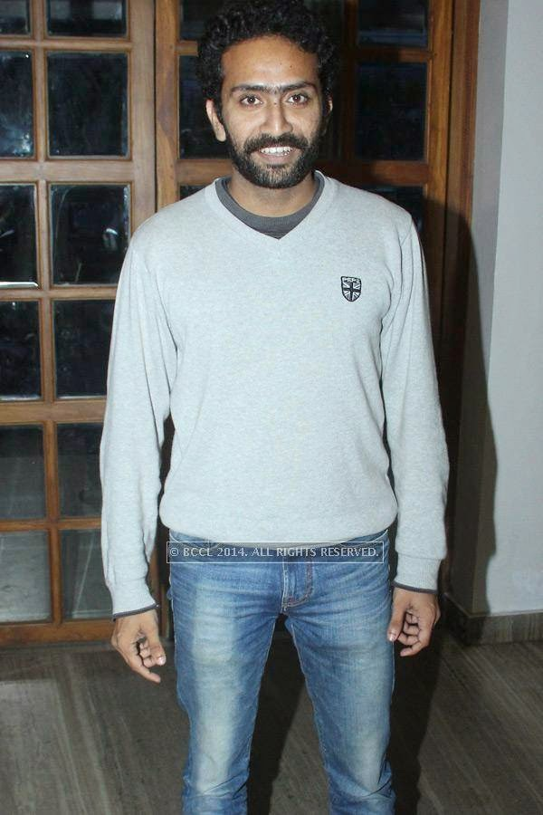 Shine Tom Chacko during the music launch of Rajeev Ravi's upcoming movie Njan Steve Lopez in the city.