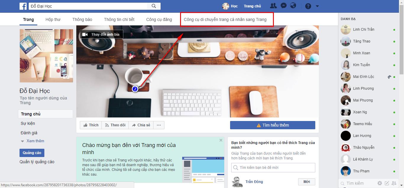 Hướng Dẫn Tạo Fanpage Có Số Like Bằng Với Số Bạn Bè Của  Bạn - Load Page 2018