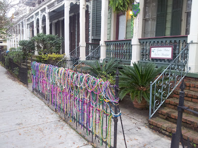 Décorations de Mardi gras à la Nouvelle-Orléans