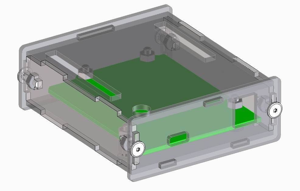 3dcad作成イメージ arduino case