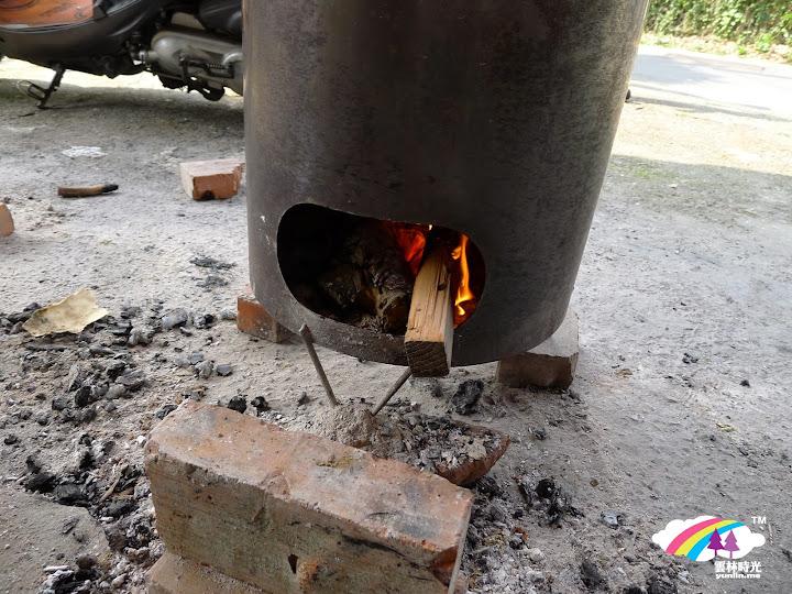 以水果木材火烤