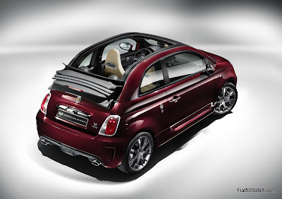 Abarth 695 Tributo Maserati rear