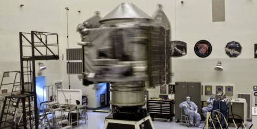 Maven Spacecraft Fueled For Flight To Mars