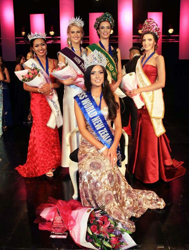 Arielle Garciano Wins Miss World New Zealand 2014 Video