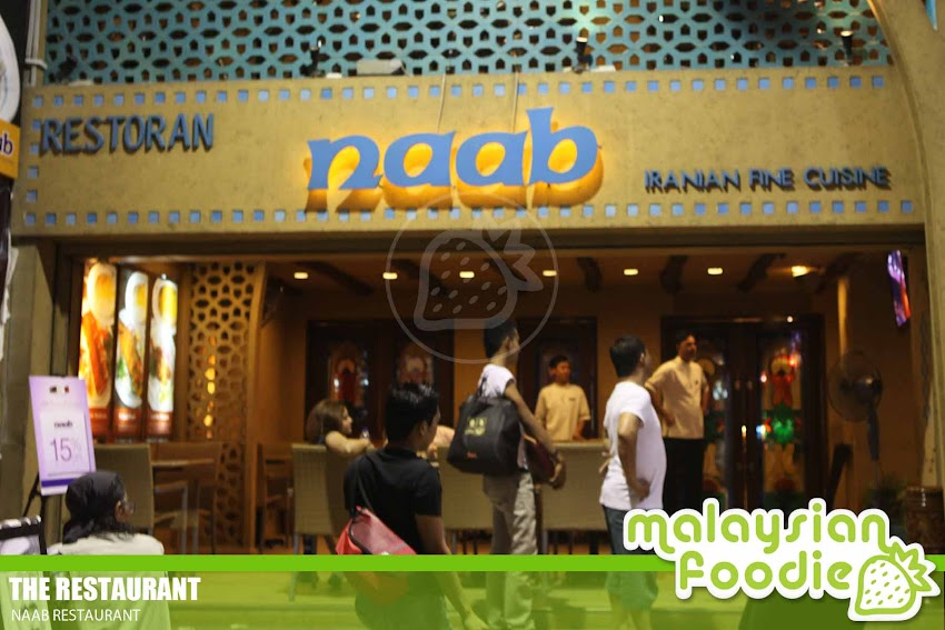NAAB RESTAURANT, BUKIT BINTANG (INVITED REVIEW)