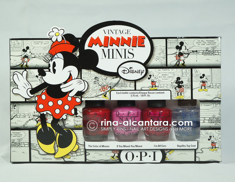 OPI Minnie Minis Collection