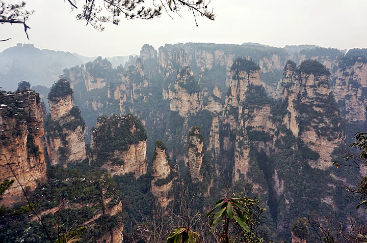 Vistas desde Fairy Cave