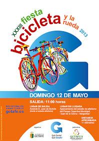 Fiesta de la Bicicleta 2013 en Getafe
