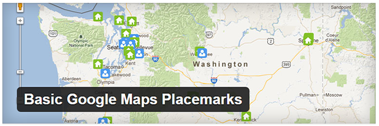 Basic Google Maps Placemarks WP plugin