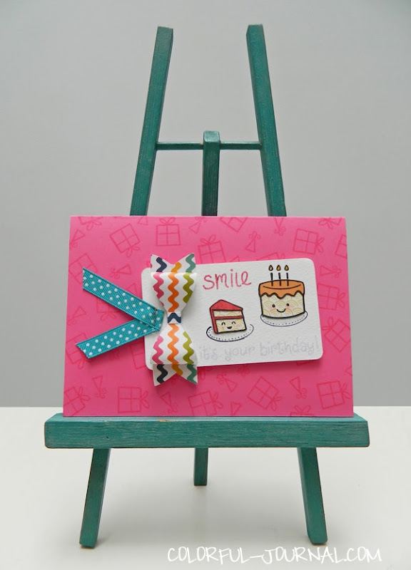 Cardmaking Video 1 Smile Its Your Birthday