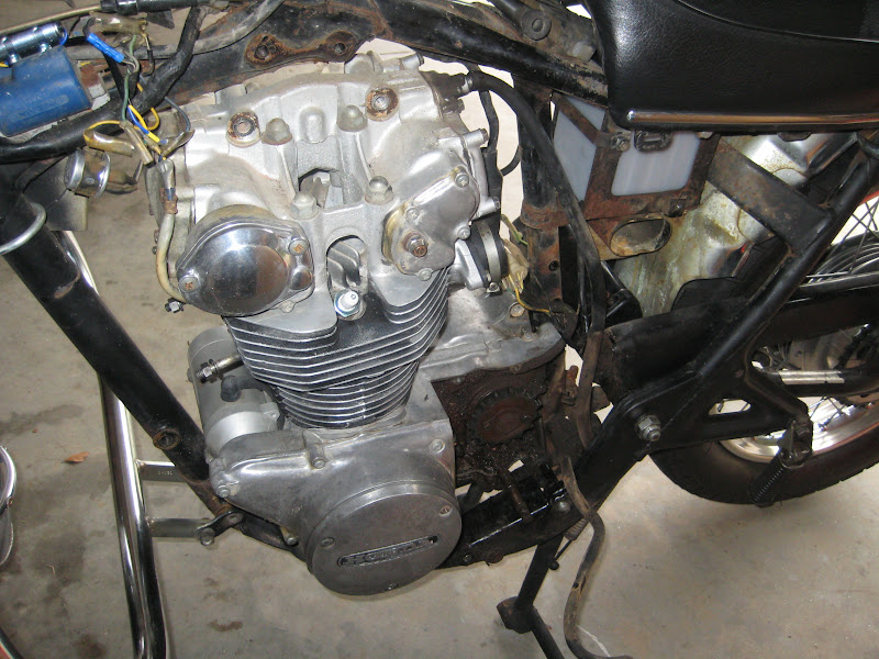 CB450 engine rebuild what parts to replace?