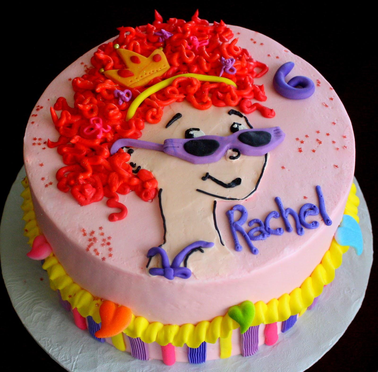 Fancy Nancy Cake Images
